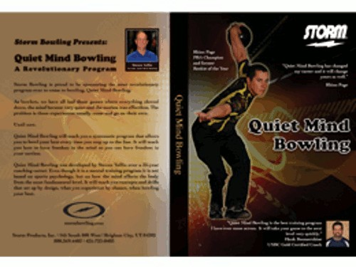 Storm Quiet Mind Bowling DVD Main Image