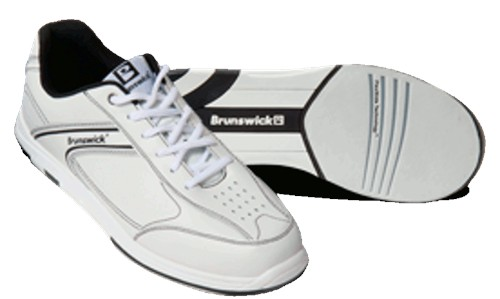 Brunswick Mens Flyer White/Black Main Image
