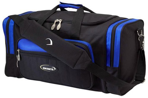 Ebonite Conquest 2 Ball Tote Black/Blue Main Image