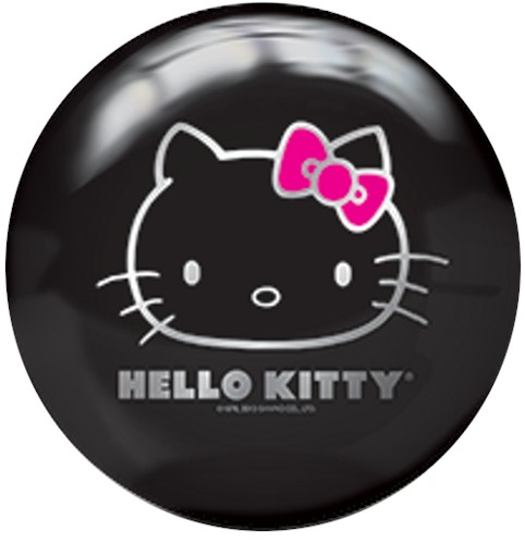 Brunswick Hello Kitty Black Viz-A-Ball Main Image