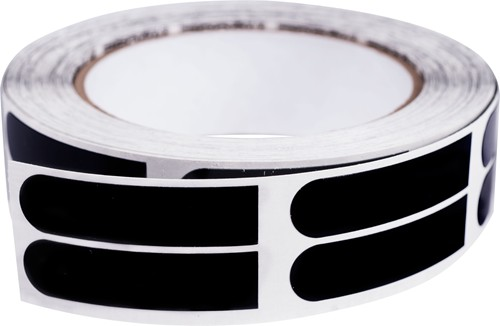 Powerhouse Premium 1'' Black Tape 500 Roll Main Image