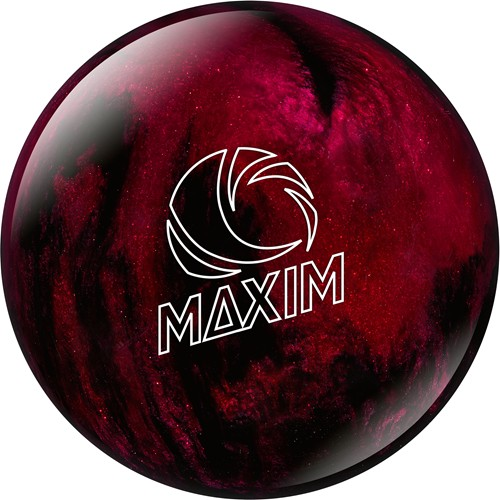 Ebonite Maxim Black/Red Sparkle Main Image