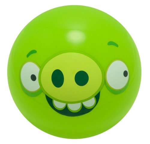 Ebonite Angry Birds Ball Green Minion Pig Main Image