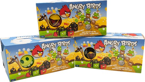 Ebonite Angry Birds Ball/Bag/Towel Combo Green Pig Main Image
