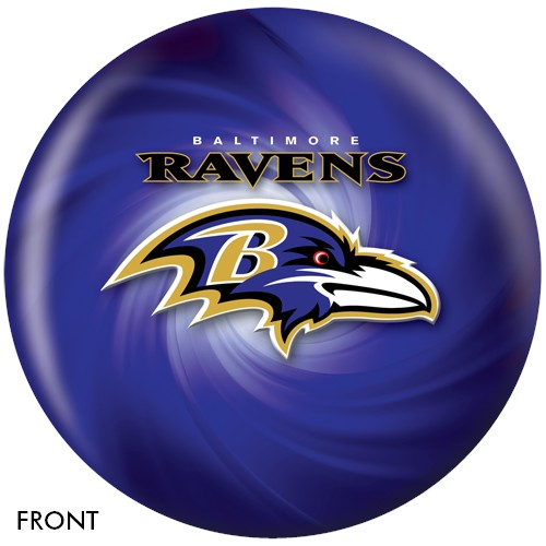 KR Strikeforce Baltimore Ravens NFL Ball Main Image