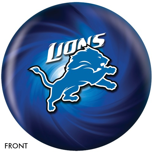 KR Strikeforce Detroit Lions NFL Ball Main Image