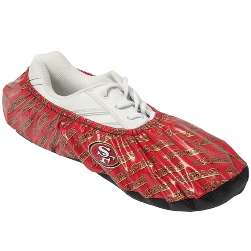 KR NFL San Francisco 49ers Shoe Covers Main Image