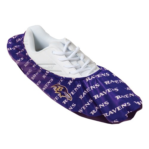 KR NFL Baltimore Ravens Shoe Covers Main Image