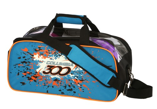 Columbia Classic 2 Ball Tote Blue/Orange/Black Main Image