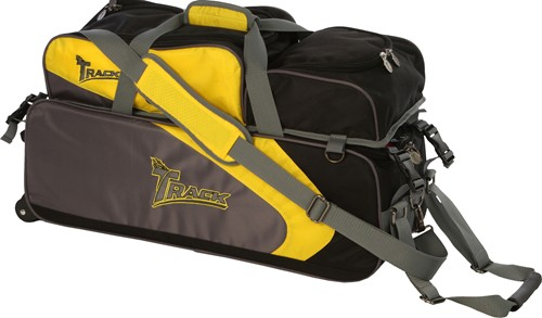 Track Premium Player 3 Ball Tote Yellow/Grey Main Image