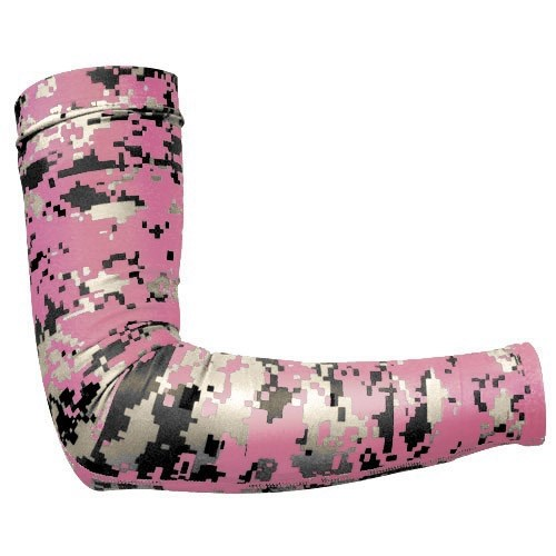 Badger Compression Sleeve Digi-Cam Pink Main Image