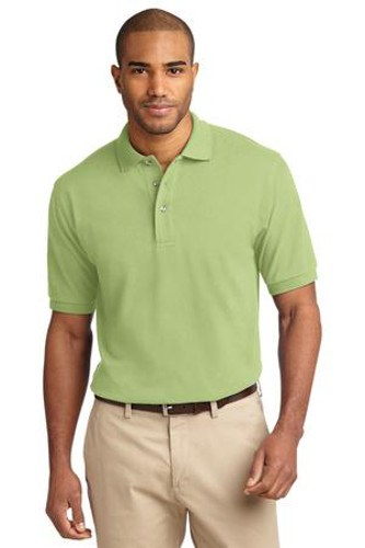 Port Authority Mens Pique Knit Sport Shirt | Pistachio
