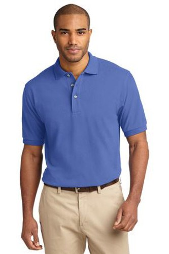 Port Authority Mens Pique Knit Sport Faded Blue Main Image