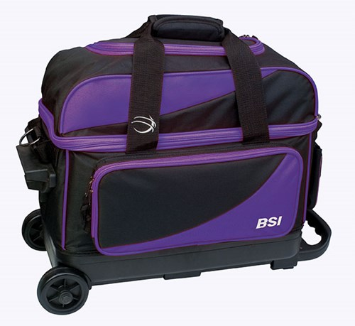 BSI Prestige Double Ball Roller Purple/Black Main Image