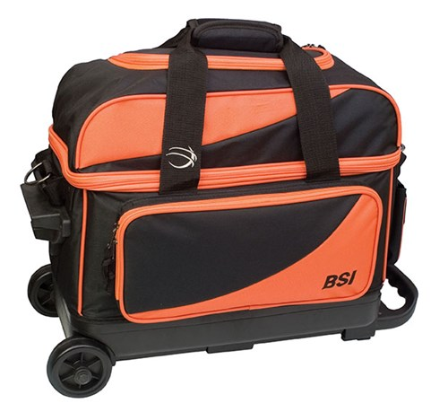 BSI Prestige Double Ball Roller Orange/Black Main Image