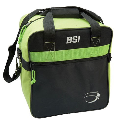 BSI Solar II Single Tote Black/Lime Main Image