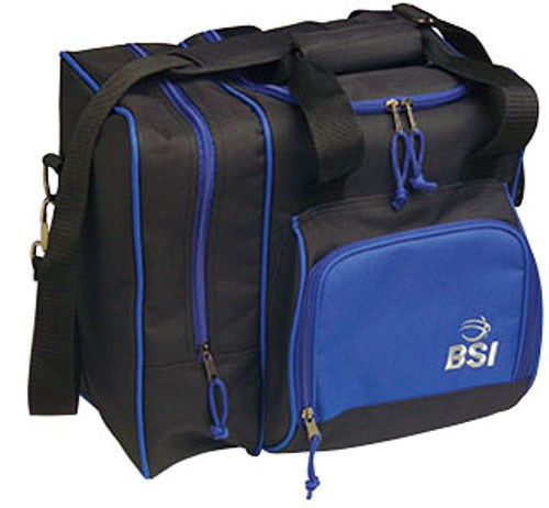 BSI Deluxe Single Tote Black/Blue Main Image