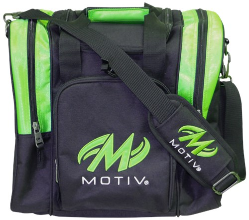 Motiv Ascent Single Tote Black/Green Main Image