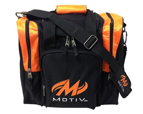 Motiv Ascent Single Tote Black/Orange Main Image