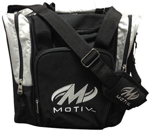 Motiv Ascent Single Tote Black/Silver Main Image