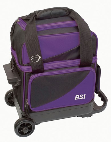 BSI Prestige 1 Ball Roller Black/Purple Main Image