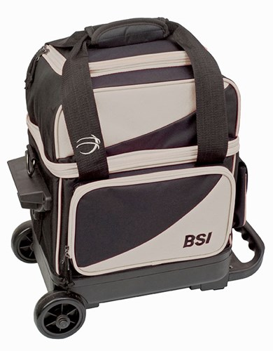 BSI Prestige 1 Ball Roller Black/Grey Main Image