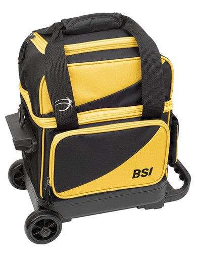 BSI Prestige 1 Ball Roller Black/Yellow Main Image