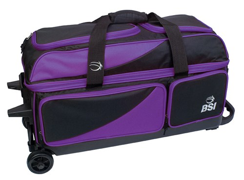 BSI Prestige Triple Roller Black/Purple Main Image