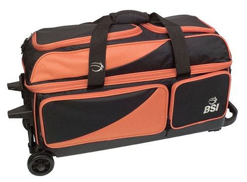 BSI Prestige Triple Roller Black/Orange Main Image