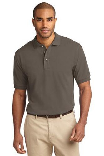 Port Authority Mens Pique Knit Sport Bark Main Image