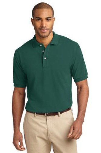 Port Authority Mens Pique Knit Sport Forest Main Image