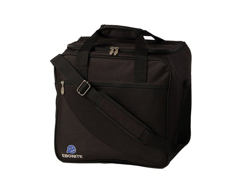 Ebonite Basic 1 Ball Tote Black Main Image
