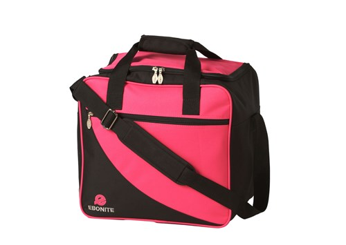 Ebonite Basic 1 Ball Tote Pink Main Image