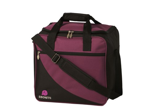 Ebonite Basic 1 Ball Tote Purple Main Image
