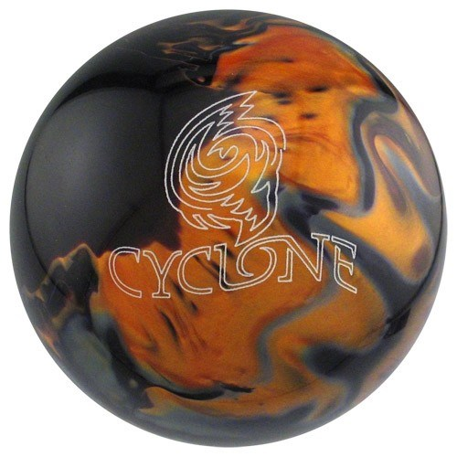 Ebonite Cyclone Black/Gold/Silver X-OUT Main Image