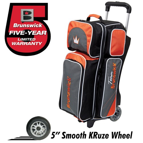 Brunswick Team Brunswick Triple Roller Slate/Orange Main Image