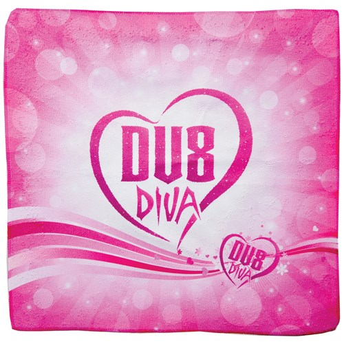 DV8 Diva Dye Sublimated Towel Pink Main Image
