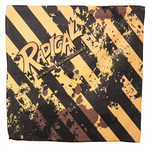 Radical Caution Tape Dye Sublimated Towel Main Image