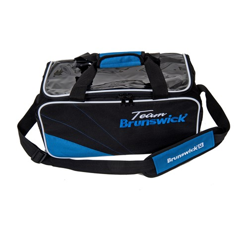 Brunswick Team Brunswick Double Tote Black/Cobalt Main Image