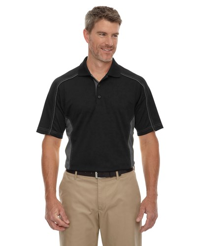Ash City Mens Fuse Polo Black Main Image