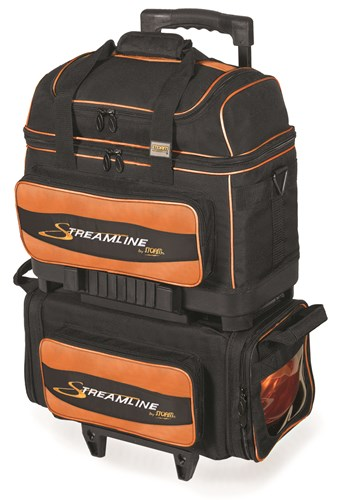 Storm Streamline 4 Ball Roller Black/Orange Main Image