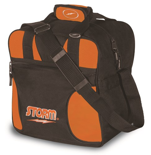 Storm Solo Single Tote Black/Orange Main Image