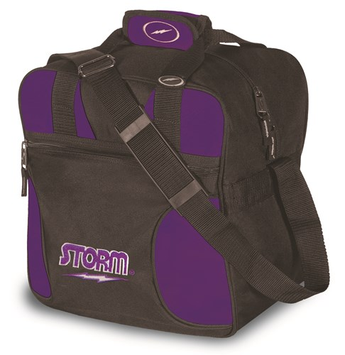 Storm Solo Single Tote Black/Purple Main Image