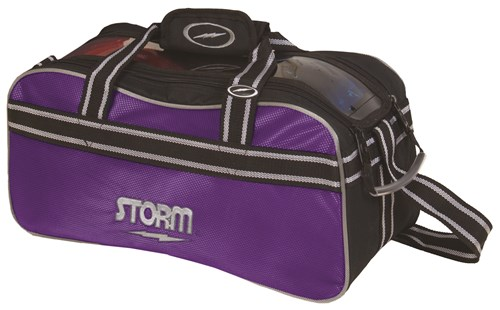 Storm 2 Ball Tote Black/Purple Main Image