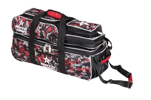 Roto Grip 3 Ball Tote/Roller Black/Red Camo Main Image