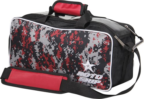 Roto Grip 2 Ball Tote Black/Red Camo Main Image