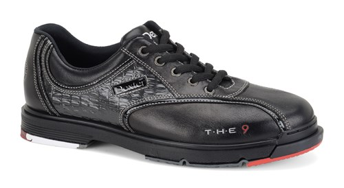 Dexter Mens THE 9 Black/Crocodile Right Hand or Left Hand Wide Width Main Image