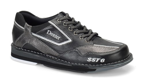 Dexter Mens SST 6 LZ Black/Alloy Right Hand Bowling Shoes   FREE ...