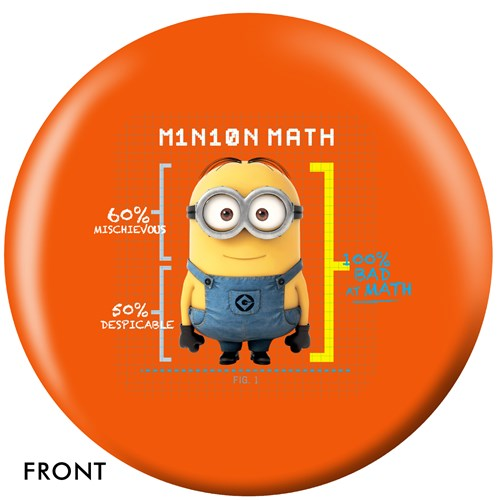 OnTheBallBowling Despicable Me Minions & Math Main Image