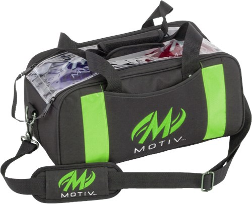 Motiv Clear View Double Tote Black/Green Main Image